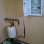 Cuadro electrico con proteccines, hidronivel y grupo de presión