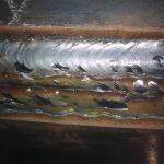 Particulas magneticas en soldaduras