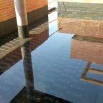 Prueba de estanqueidad en terraza por inundación.