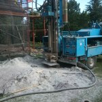 sondeo de 150m para geotermia
